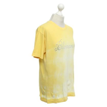 Blumarine Top in giallo