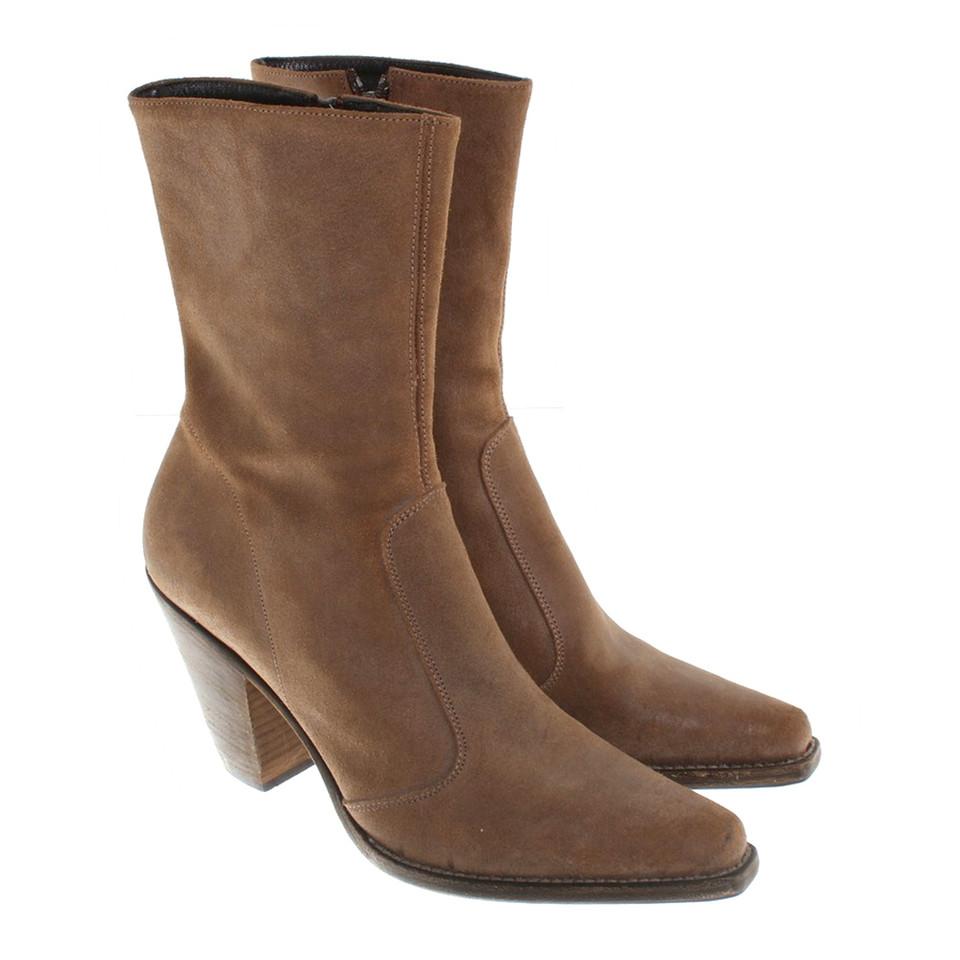 marc cain boots in bruin koop tweedehands marc cain boots in bruin voor 160 00 2154921. Black Bedroom Furniture Sets. Home Design Ideas