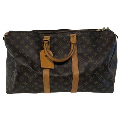 f543e4472d8f Louis Vuitton Travel bag Canvas in Brown
