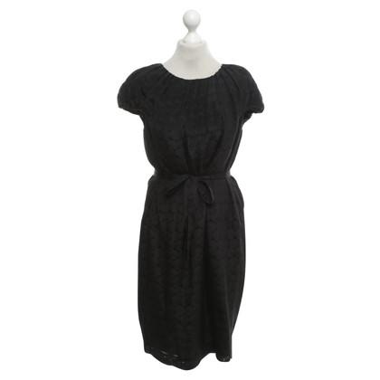 Hugo Boss zijden jurk met patroon