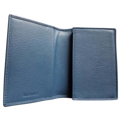 Jil Sander Carta di credito in Blue