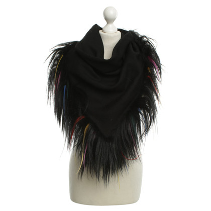 Armani Scarf in black