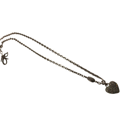 Christian Dior Dior necklace with heart pendant