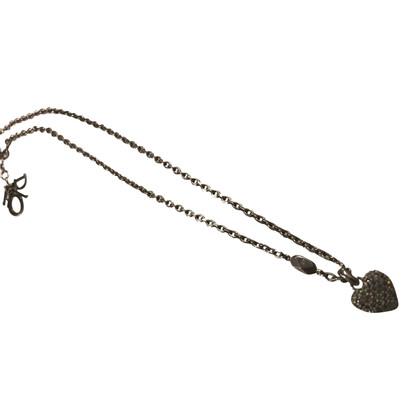 Christian Dior Dior ketting met hart hanger