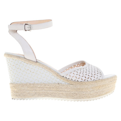 Steffen Schraut Wedges in white
