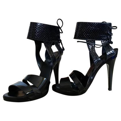 Chloé Sandaletten aus Pythonleder