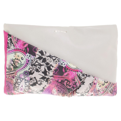 Etro clutch made of leather