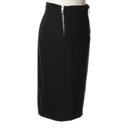 Costume National Pencil skirt in black