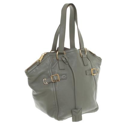 "Yves Saint Laurent ""Downtown Bag"" in Khaki"