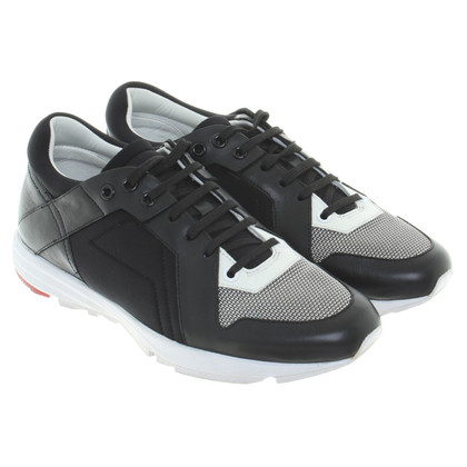 Hugo Boss Sneakers in bianco / nero