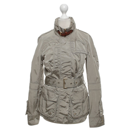 Moncler Giacca con cuciture beige