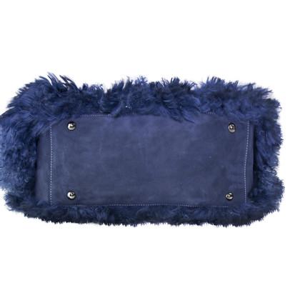 Hogan Handbag with fur trim