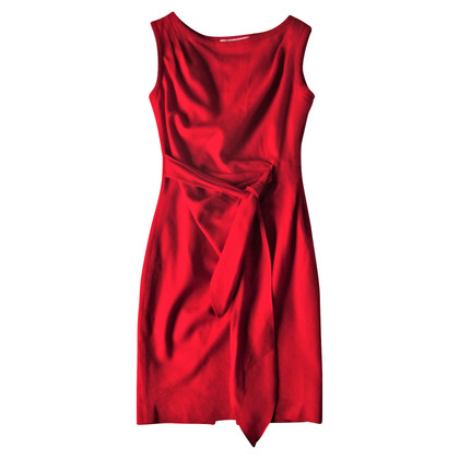 Paul & Joe Red Crepe Paul & Joe Dress