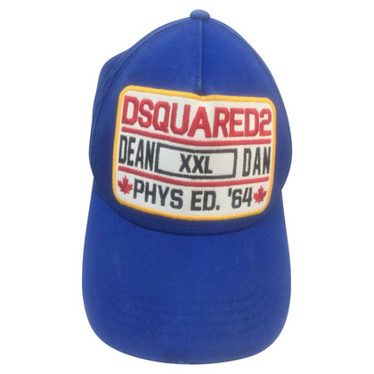 Dsquared2 Kap met logo-applicatie