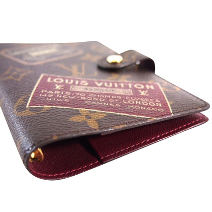 "Louis Vuitton ""Agenda Fonctionnel PM Monogram Canvas"" LE"