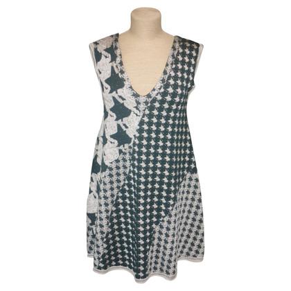 Acne Woll-Kleid mit Print