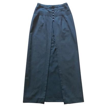 Dries van Noten Black cotton skirt