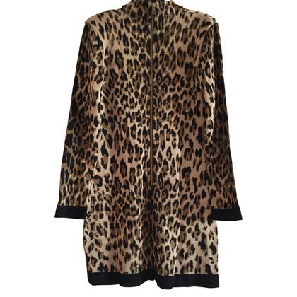Balmain Kleid mit Leoparden-Muster