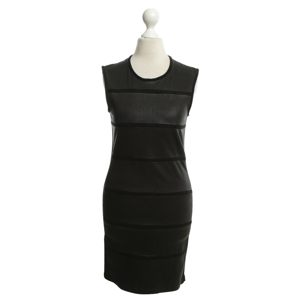 Iro Dress made of leather