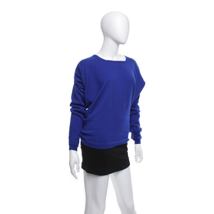 Balenciaga Knitted sweater in blue