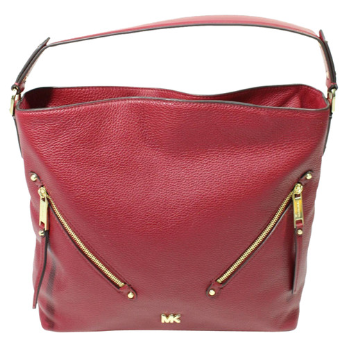 570bb45396 Michael Kors Borsa a tracolla in Pelle in Bordeaux - Second hand ...