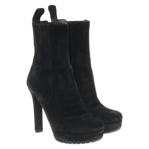 38b0f0269a3 Gucci Suede ankle boots - Second Hand Gucci Suede ankle boots buy ...
