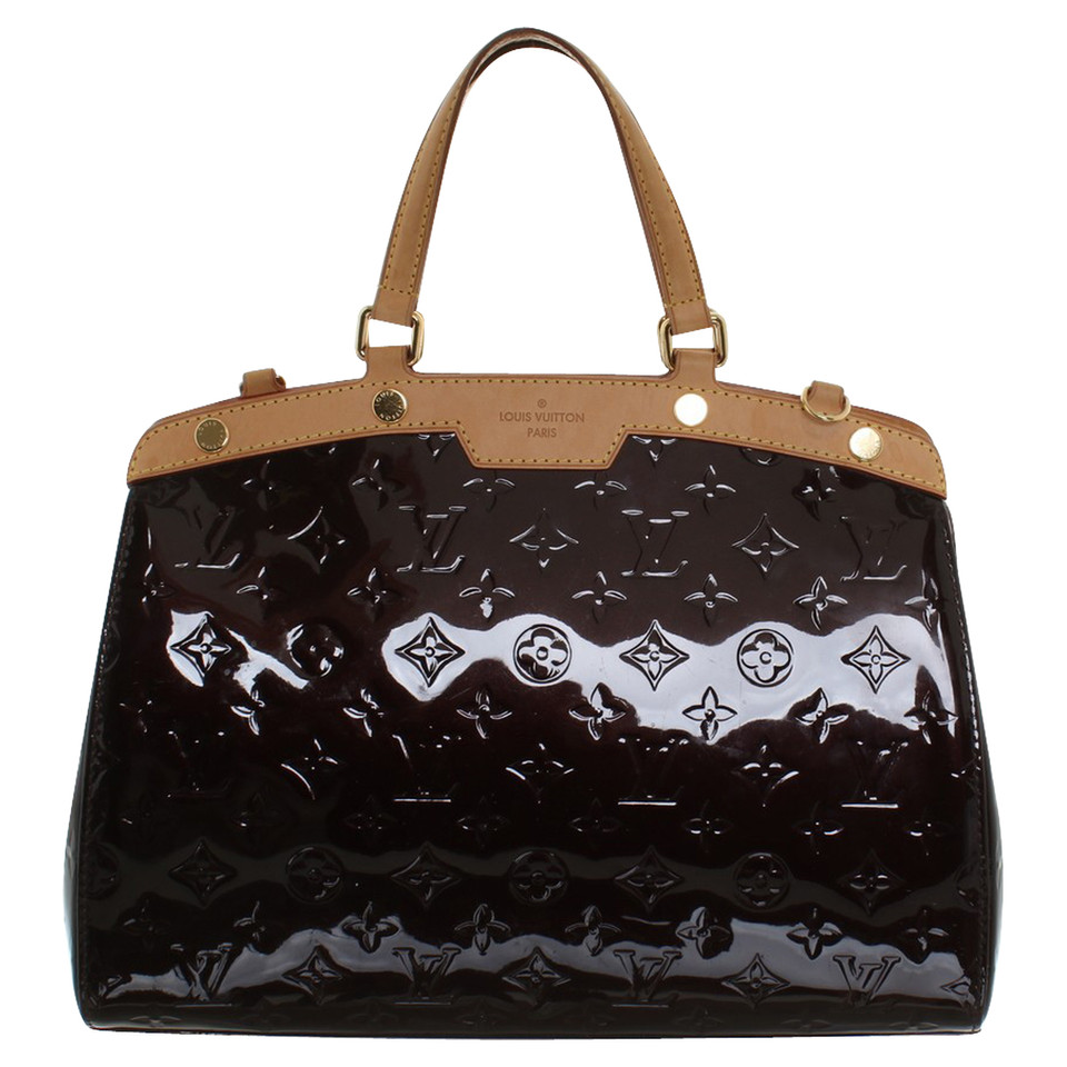 louis vuitton handbag made of monogram vernis buy second hand louis vuitton handbag made of. Black Bedroom Furniture Sets. Home Design Ideas