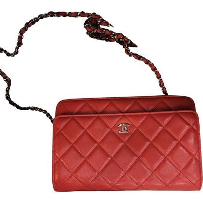 Chanel Chanel Wallet on Chain Red