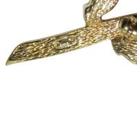 Christian Dior Brosche mit Steinen