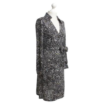 Diane von Furstenberg Wickelkleid mit Muster-Print