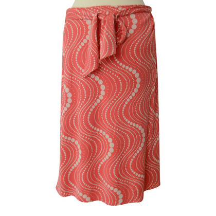 Allude MIDI length wrap skirt