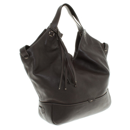 Fratelli Rossetti Shopper in dark brown