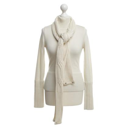 Karen Millen Knit sweater with scarf