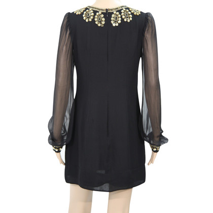 French Connection Silk dress in black