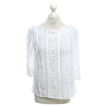 Maje Blouse with lace