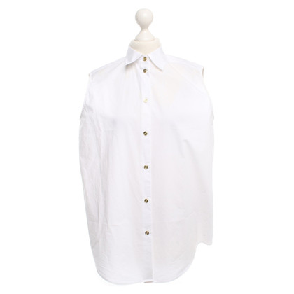 Acne Sleeveless blouse in white