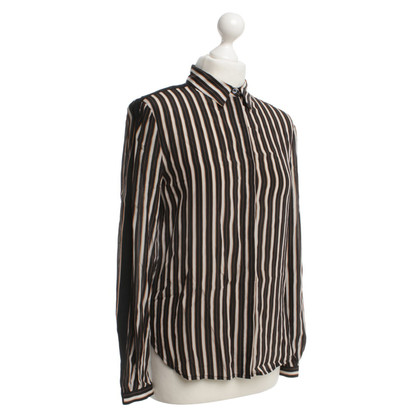Stefanel Striped silk blouse