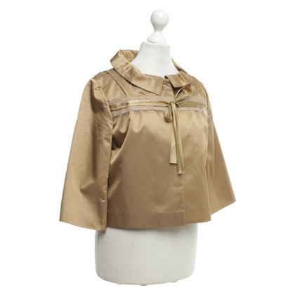 Schumacher Gold colored short jacket