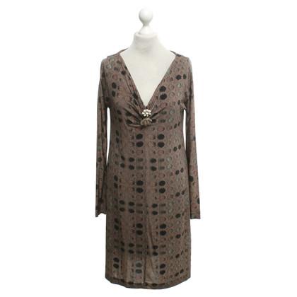 Maliparmi Kleid mit Muster