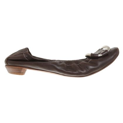 Other Designer AGL - Ballerinas in dark brown