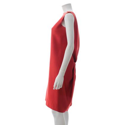 Lanvin Silk dress in red