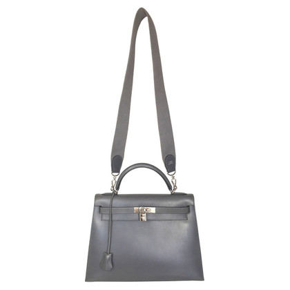 """Hermès """"Kelly Bag 32"""" from Box Calf leather"""