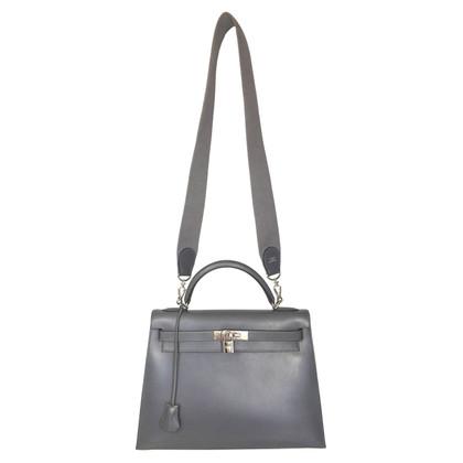 """Hermès """"Kelly Bag 32"""" aus Box Calf Leder"""