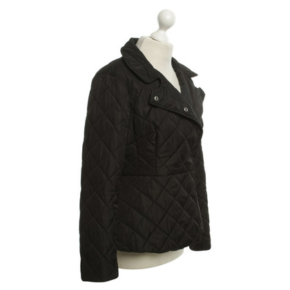 French Connection Quilted Jacket in Black