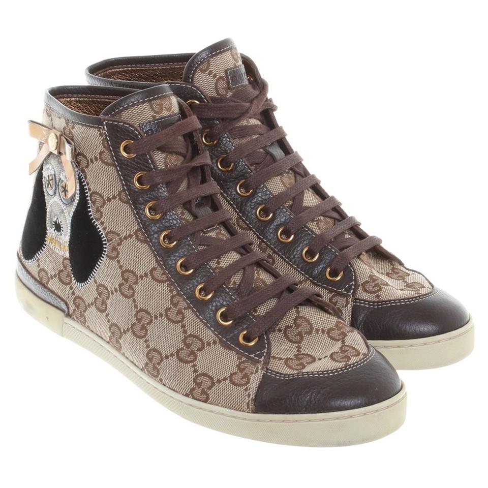 Gucci Sportlich elegante Sneakers - Second Hand Gucci ...