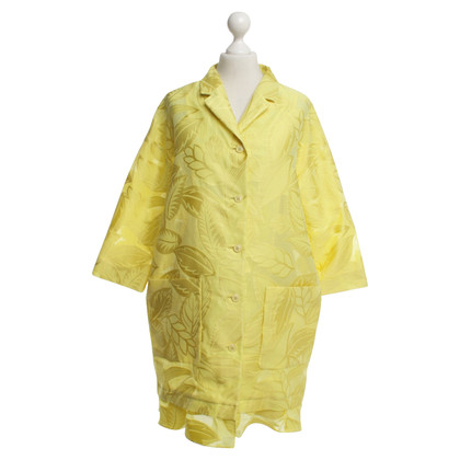 Moschino Coat in yellow