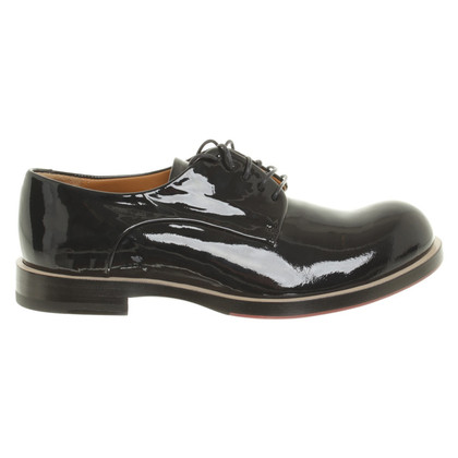 Jil Sander Lace-up shoes in patent leather