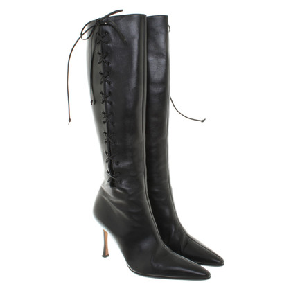 Manolo Blahnik Leather boots