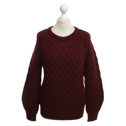 Isabel Marant Woll-Pullover in Bordeaux