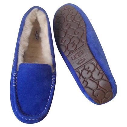 Ugg Moccasins in blue